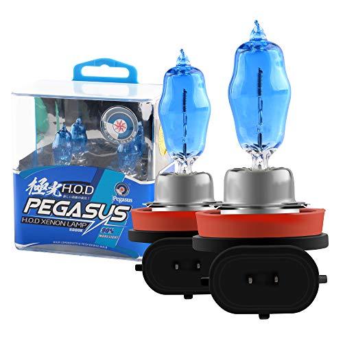 2pcs H11 100w Super Brillant Blanc 6000K Halogène au Xénon Ampoule 12v Voiture Phare Antibrouillard Remplacement de la Lampe