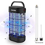 FOCHEA Lámpara Anti Mosquitos, UV Mata Mosquitos Electrico Mosquitos Killer para Mosquitos,...