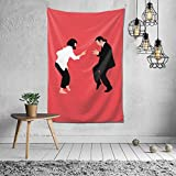 NiYoung Pulp Fiction Wall Hanging Tapestry, Psychedelic Wall Art, Room Decor Beach Throw, Indian Wall Tapestries Art 40 x 60 Inches for Dorm Room Bedroom Apartment