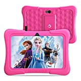 Dragon Touch Y88X Pro 7 inch Kids Tablets, 2GB RAM 16GB ROM, Android 9.0 Tablet, Kidoz Pre Installed with Disney Contents (More Than $80 Value), Pink (Renewed)