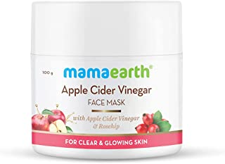 Mamaearth Apple Cider Vinegar Face Mask For Glowing Skin & Clear Skin With Apple Cider Vinegar & Rosehip for Clear and Glo...