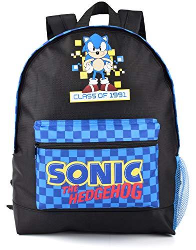 Sonic The Hedgehog Juego En Mochila retro del estilo del muchacho