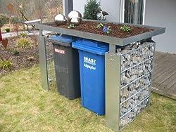 Die Mülltonnenbox Aus Stein Mülltonnenbox
