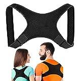 Posture Corrector for Women and Men, Adjustable Upper Back Brace for Support