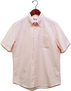 Sweep/スウィープ オックスフォードボタンダウン半袖シャツ 定番のメンズシャツ ピンク 2(M)