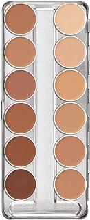 Kryolan DerMAColor Camouflage Cream Palette - D1W-D12W