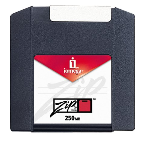 Iomega 11097 Zip 250 MB Disks PC Formatted (8-Pack) (Discontinued by Manufacturer)