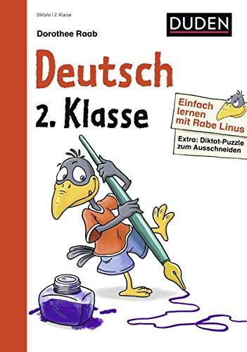 Einfach lernen mit Rabe Linus – Diktate 2. Klasse