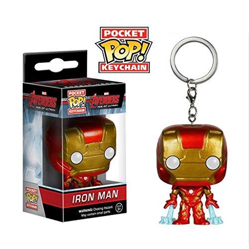C&S IRON MAN x POP sleutelhanger! Avengers:Endgame PVC Exquisite Verzamelfiguur, Multi kleuren