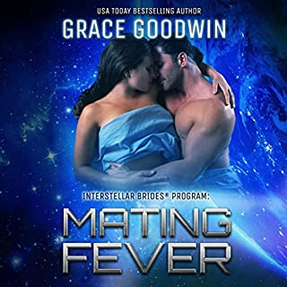 Mating Fever     Interstellar Brides, Book 10              Written by:                                                                                                                                 Grace Goodwin                               Narrated by:                                                                                                                                 BJ Pottsworth,                                                                                        Audrey Conway                      Length: 5 hrs and 26 mins     5 ratings     Overall 4.8