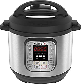 Instant Pot Duo 7-in-1 Electric Pressure Cooker, 6 Qt, 5.7 Litre, 1000 W, Brushed Stainless Steel/Black (B00OP26T4K) | Amazon price tracker / tracking, Amazon price history charts, Amazon price watches, Amazon price drop alerts