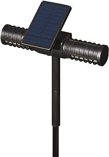 Jieer Lámpara Antimosquitos, Mosquito Alimentado con Energía Solar Zapper Killer Trap Lámpara de luz LED para Jardín Lawn Camping al Aire Libre