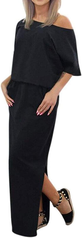 Cotton Blend Casual Party Daily Creative Fall Spring Women Long Maxi Evening Dress