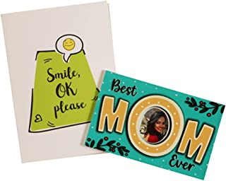 Oye Happy - Best Mom Ever Magnet (Green) - Best Fridge Magnet for Mother/Mother-in-Law to Gift on on Birthday / Mother's Day