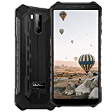 Ulefone Armor X5 Pro 4GB + 64GB ROM Rugged Cell Phones Unlocked, Android 10 Octa-core 13MP+2MP+5MP Triple Camera 5.5' HD+ Screen 5000mAh Big Battery Dual SIM 4G Rugged Smartphones -Black