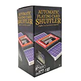 Cardinal Games Automatic Card Shuffler, Multicolor