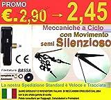Movimento Meccanismo S. Silenzioso per Orologio da Parete con Filettatura Bassa e Lancette Spada Lunghe F3 SOTTOCOSTO