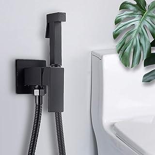 per bidet a mano doccetta con tubo da 1,5 m cromato doccetta Shattaf Zotti kit compatto in ottone di alta qualit/à