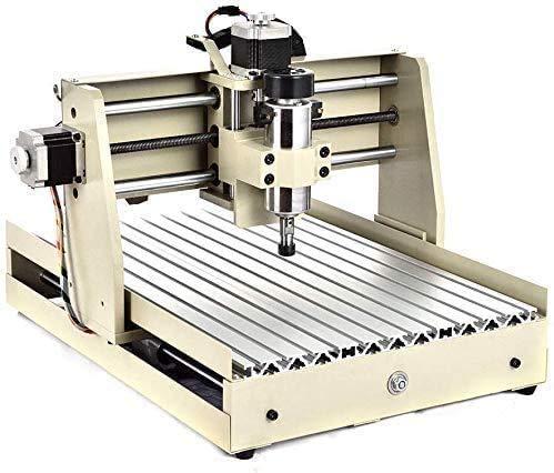 CNC Engraver Machine, 4 Axis 3040 CNC Router Engraver 400W Desktop Engraving Drilling Milling Machine Acrylic PCB PVC 3D Wood DIY Artwork Cutter, USB Port 400W, US Stock