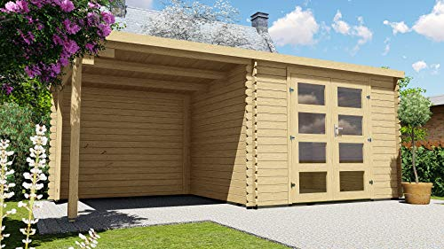 AL timber Ltd Gartenhaus mit Veranda mit Veranda, 3...