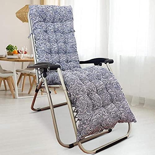 ZWPY Juego de Cojines para Silla Mecedora, cojín para Tumbona, Cojines de Repuesto para el salón, Cojines para sillas reclinables para Relajarse de jardín