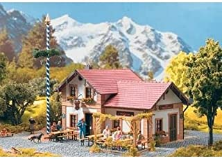 PIKO G SCALE MODEL TRAIN BUILDINGS - BEER GARDEN CAFE & INN - 62022
