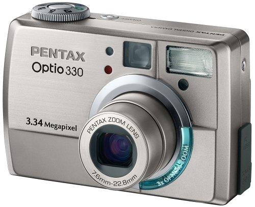 Pentax Optio 330 Digitalkamera (3,3 Megapixel)