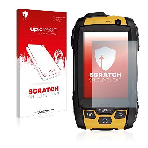 upscreen Schutzfolie kompatibel mit RugGear RG500 – Kristallklar, Kratzschutz, Anti-Fingerprint