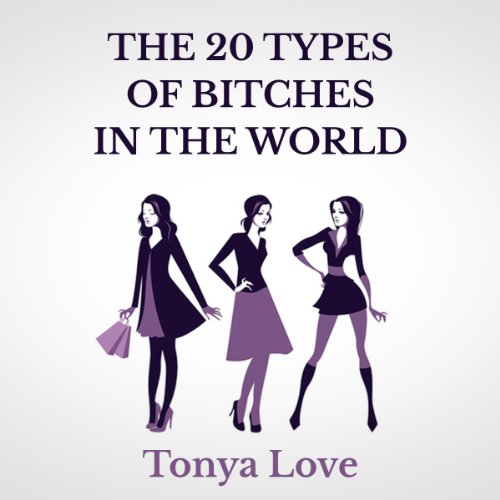 The 20 Types of Bitches in the World audiobook cover art