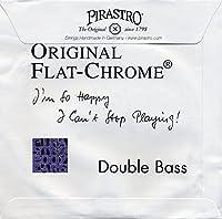 PIRASTRO 347020 コントラバス弦 ORIGINAL FLAT-CHROME オリジナルフラットクローム 3/4用 Mittel セット弦 (ピラストロ)