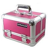 DynaSun BS355 29x21x20cm Fucsia Maletín Maquillaje Cosmética Estética Joyas Multiuso Caja Maleta Belleza Cofre Joyas Cabello Estuche