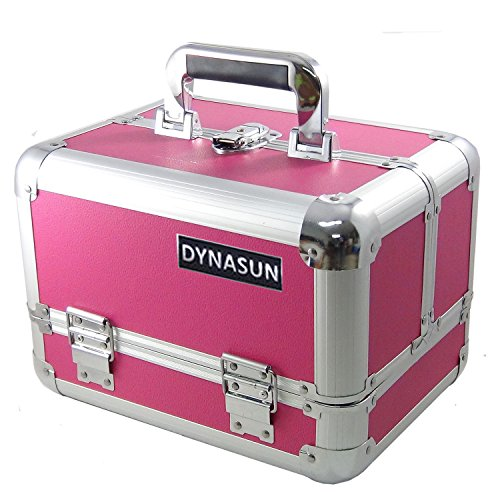 DynaSun Bss35 Beauty Case Make Up Nail Art Porta Gioie, Rosso, XXL