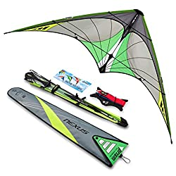 in budget affordable Prisma Kite Technologie Nexus 2.0 Graphite 2-line stuntman