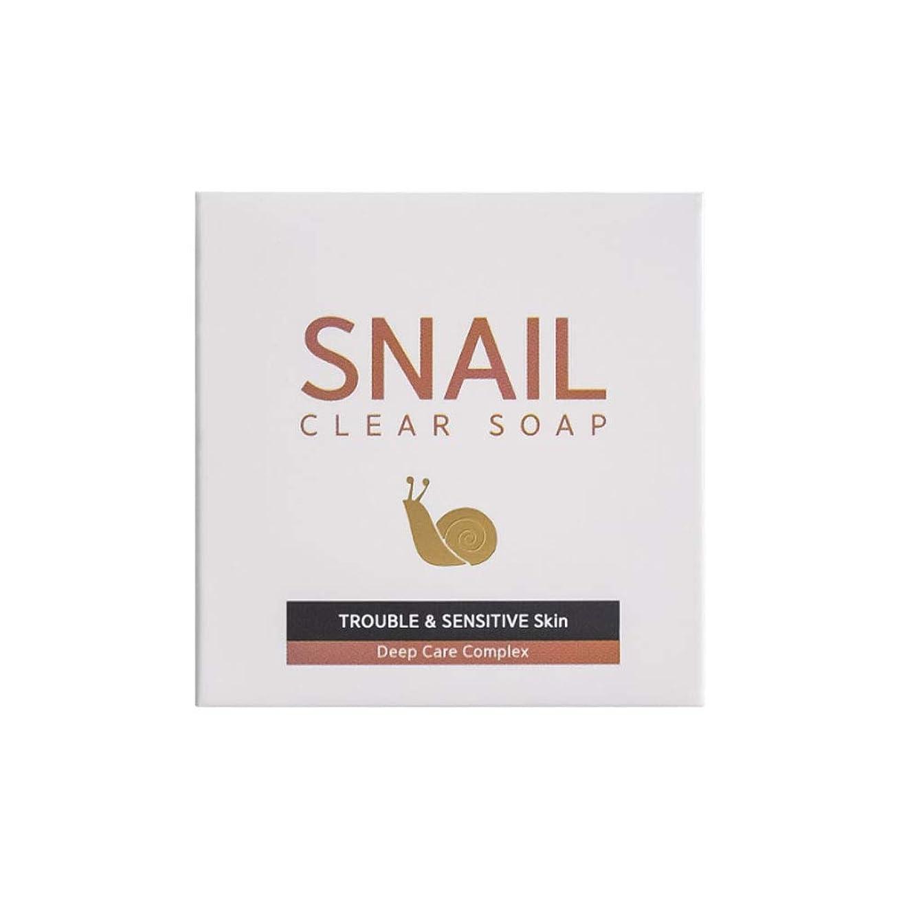 買う橋麻痺させる[RNT International] YUNE25 Snail Clear Soap クリア ソープ 固形 せっけん [並行輸入品]
