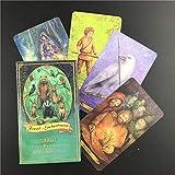 MIAOGE Tarot Tarjetas Bosque De Encantamiento Tarot Oracle Cards Inglés Pdf Guía De Mesa Deck Board Party Jugando Juegos De Cartas