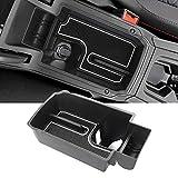 YEE PIN Consola central para Seat Leon 4 MK4 2020 2021, caja de almacenamiento/guantera para reposabrazos, organizador de accesorios, con alfombrilla antideslizante