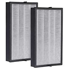 100% matching for models : Inofia 1539 true HEPA air purifier. Easy to replace: emove the old filter before starting the purifier, then replace the new filter, and then reset to continue the purifier. HEPA filter: The ultra-thick pleat design greatly...