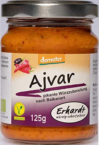 Erhardt Bio Demeter Ajvar (2 x 125 gr)