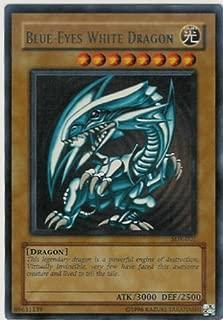 Yugioh Sdk-001 Blue-eyes White Dragon Ultra Rare Holofoil Card [Toy]