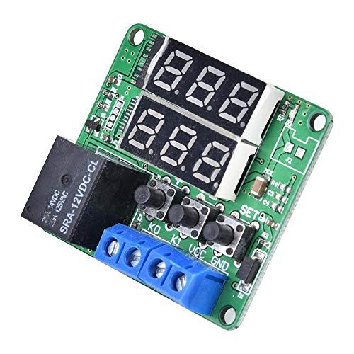Relé digital, útil módulo de relé programable Resistente conveniente para componente electrónico para uso general para fábrica para uso profesional