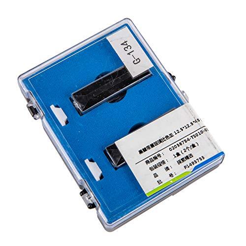 Tansoole 1.0ml Lichtwegbreite: 3mm Schwarz Glas-Küvette Für Spektralphotometer mit Abdekcung, 12.5×12.5×45