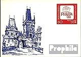 Prophila Collection DDR P99 Amtliche Postkarte gefälligkeitsgestempelt 1988 Praga 1988 (Belege Ganzsachen für Sammler)