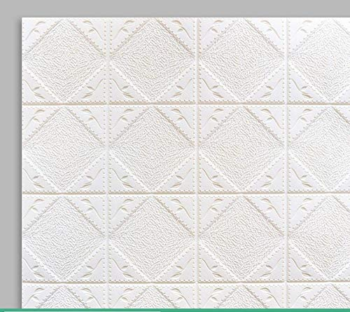 3D estéreo pegatinas de pared dormitorio techo techo pegatinas de techo papel pintado decorativo papel pintado autoadhesivo impermeable-1