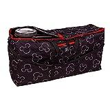 J.L. Childress Disney Baby Single & Double Stroller Travel Bag, Black