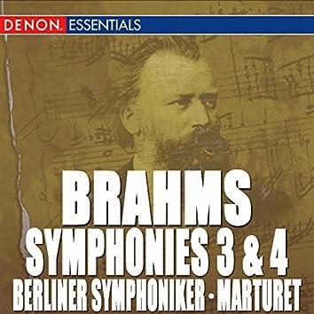 Brahms: Symphony Nos. 3 & 4