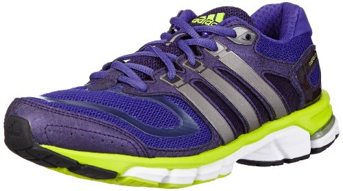 adidas Performance Damen Response Cushion 22 W Laufschuhe, Violett Blast Purple F13 Electricity Tech Silver Met F13, 41 EU