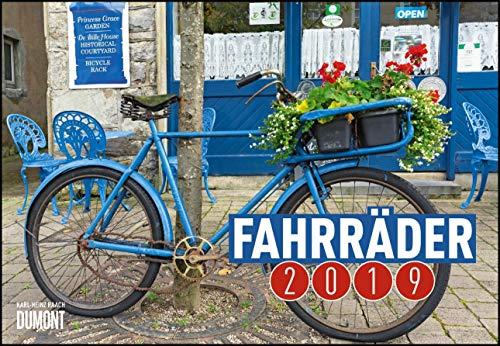 Fahrräder 2019 - Broschürenkalender - Wandkalender - mit Schulferienterminen - Format 42 x 29 cm