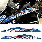 Moto Pegatinas For BMW R1200GS R 1200 GS GSA Nariz Motocicleta Etiquetas Delantero Protección Protector de carenado Pico de la Capucha del Protector de Aventura (Color : B)