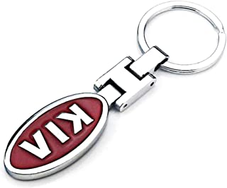 VILLSION 3D Car Logo Keychain Double Sided Alloy Metal Auto Car Keyring Key Chain Accessories with Gift Box