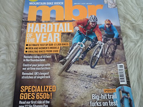 MBR Mountain bike rider magazine june 2014